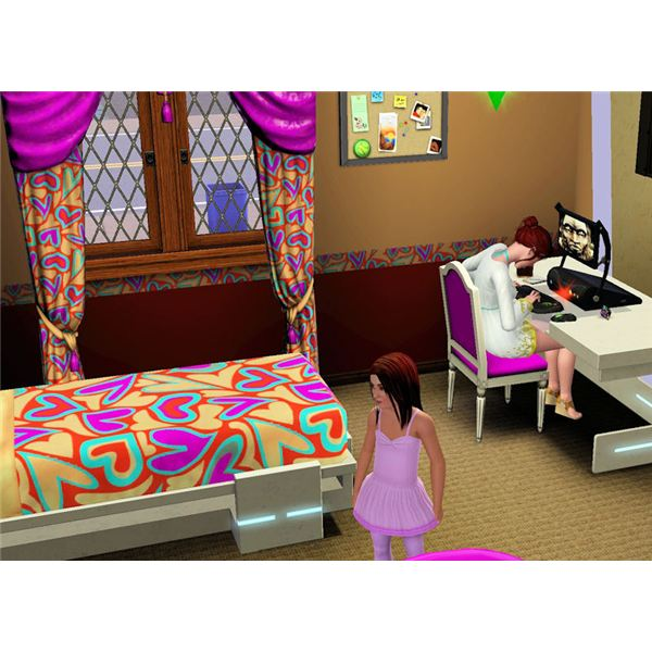 The Sims 3 prank computer