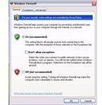 Windows Firewall UI in XP SP2