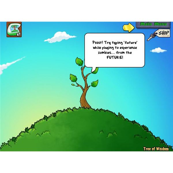 PvZ Tree of Wisdom