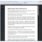 Yahoo news article using Safari Reader