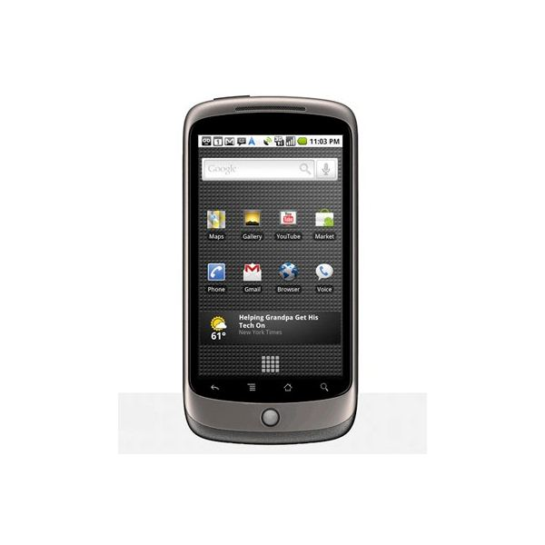 The Nexus One Google Android phone