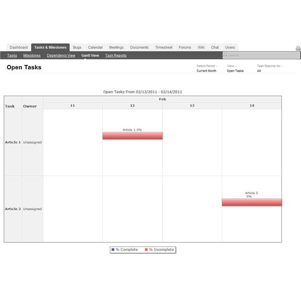 Zoho Projects is a great option for those needing project scheduling software for just one project.
