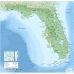 Florida topographic map-en