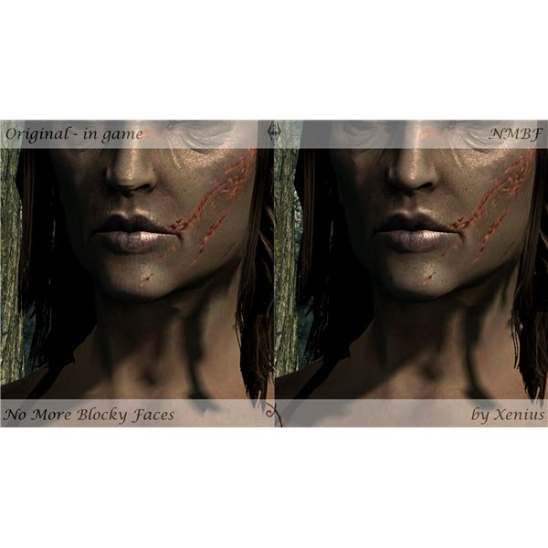 Smoother Faces Mod Example