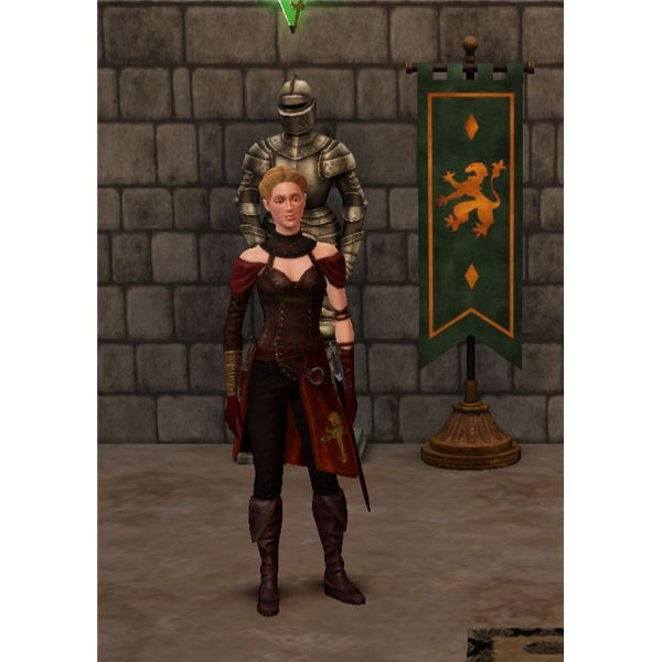 The Sims Medieval Knight