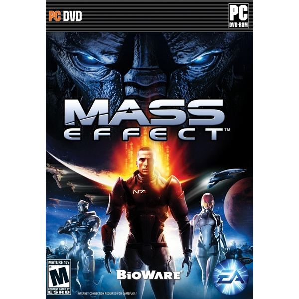 Mass Effect PC Video Game Boxshot