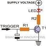 Basic Time Delay Circuit, Diagram,Image