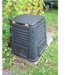 A Plastic Garden Compost Bin