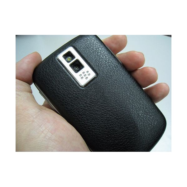 Blackberry Bold - Back Side of the Phone