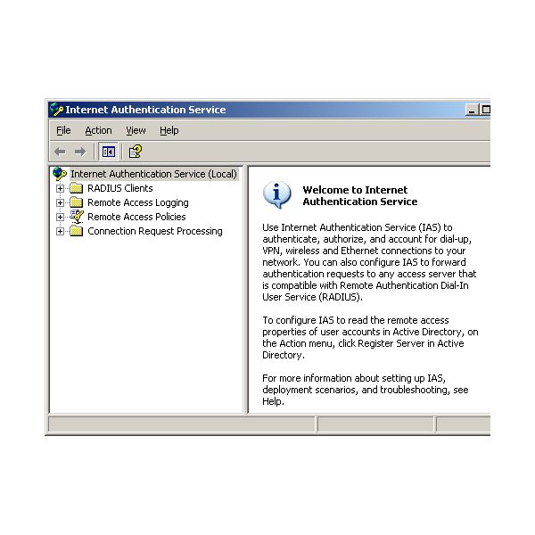 IAS Features Supported by Microsoft Windows Servers
