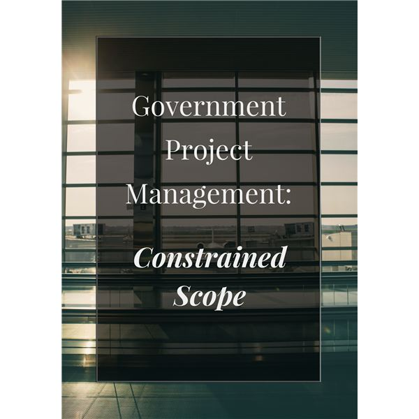 Government PM Constrained Scope