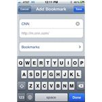 Add iPhone Bookmark