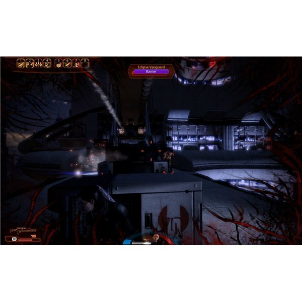 Mass Effect 2 Guide - Thane - The Bridge and the Rocket Turrets