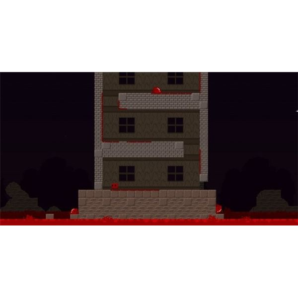 There is so much level variety that you will never get bored while playing Super Meat Boy.