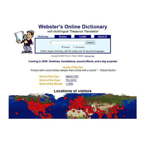 Webster's Online Dictionary