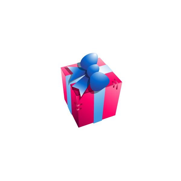 Gift Box Icon Wikimedia Commons