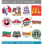 Fast Food Calorie Counter BlackBerry App