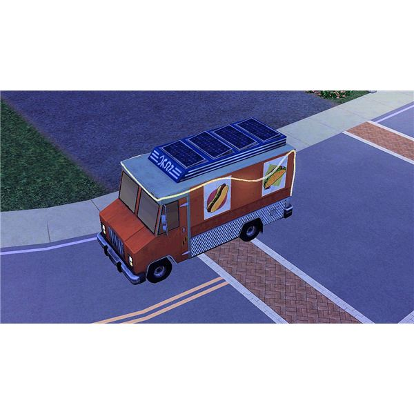 The Sims 3 Food Truck