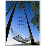 Hammock Theme Retirement Invitation
