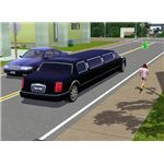 The Sims 3 boarding school limo