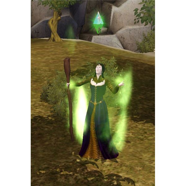 The Sims Medieval Wizard Meditating