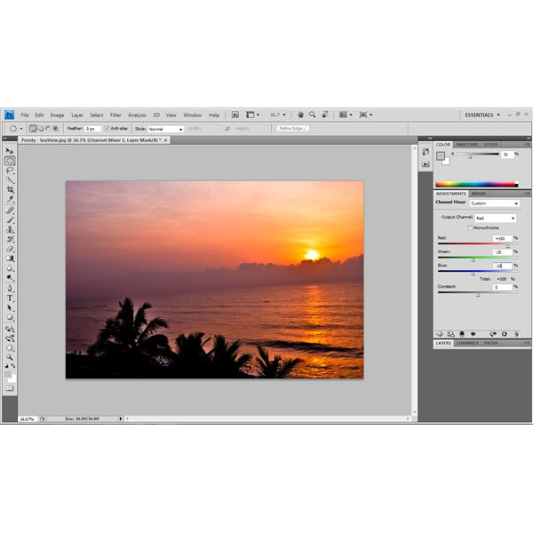 Vibrant Colors in Photographs - Adobe Photoshop Tutorial - Red Channel