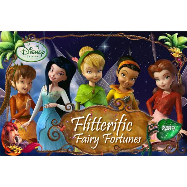 Flitterific Fairy Fortunes Game