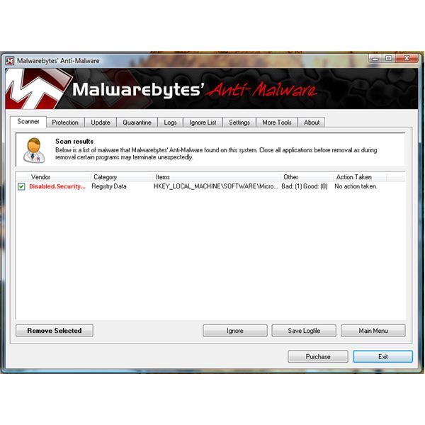Detection on Disabled settings of WIndows Updates