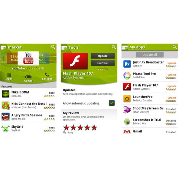 Amazon Appstore vs Android Market