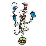 Cat In the Hat Juggling from Free Clip Art Blogspot