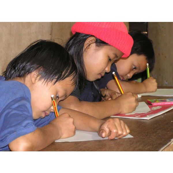children-studying