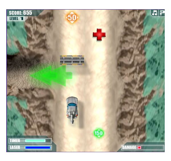 Transformers–AllSpark Highway Screenshot