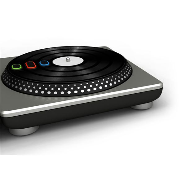 DJ Hero Controller--The Turntable Peripheral