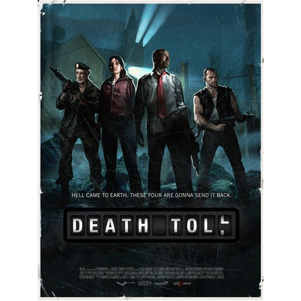 Left 4 Dead Death Toll Walkthrough: The Turnpike and the Drains