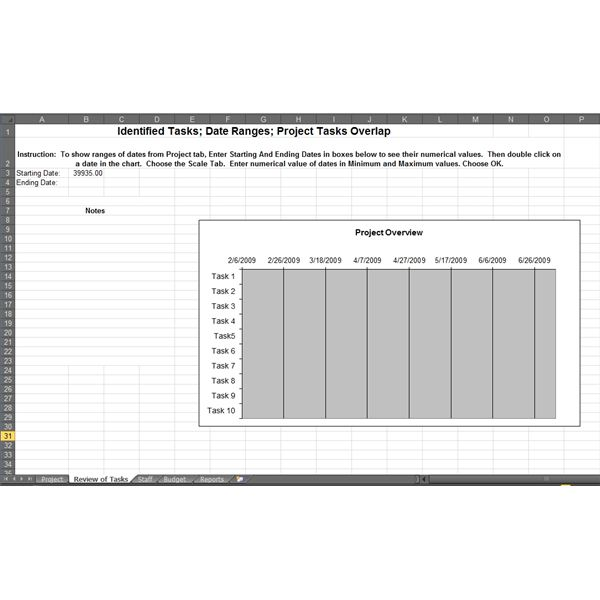 availability template excel - download a microsoft excel project planning form learn