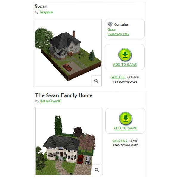 The Sims 3 Bella Swan House Downloads