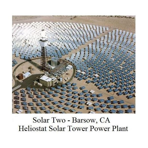 Solar Two Concentrating Solar Power Plant