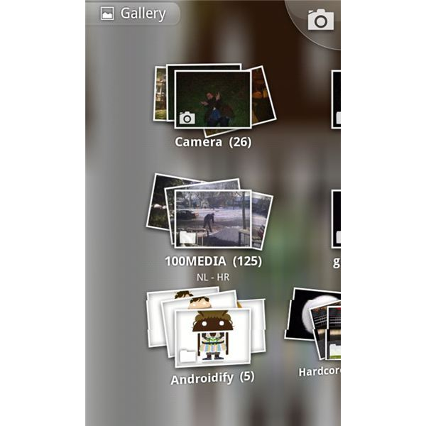 Gallery 3D Home Screen