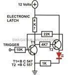 Transistor Circuits, Electronic Latch, Circuit Image