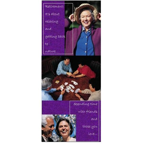 Retirement Community Rack Card Template