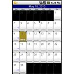 Touchdown Android App Calender