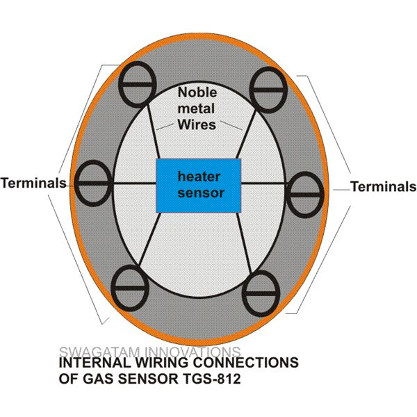 Internal Wiring Connections of TGS-813