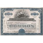 Allied Paper Corporation Stock Certificate 1966