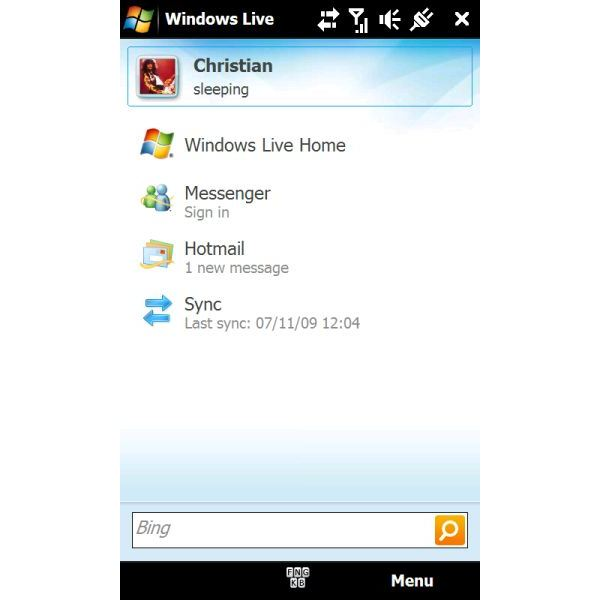 windows mobile 6.5 apps Windows Live