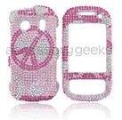 Samsung Seek Pink jewel peace plastic case