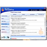 ThreatFire real-time protection quarantined and deleted a fraud tool