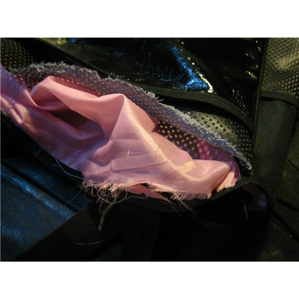 bag ripped and lining underneath ripped