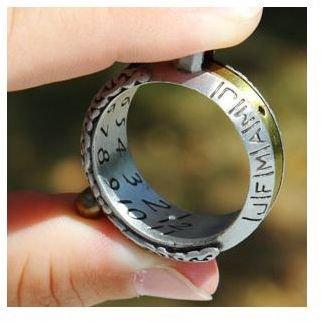 Sun dial new tech - sundial ring watch