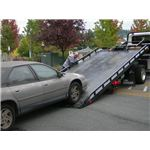 Flat Bed Tow Truck Wikimedia Commons