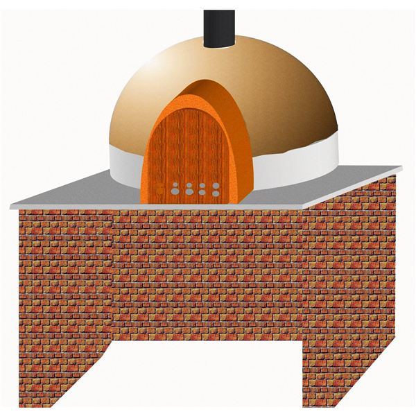 Wood Fired Baking Oven